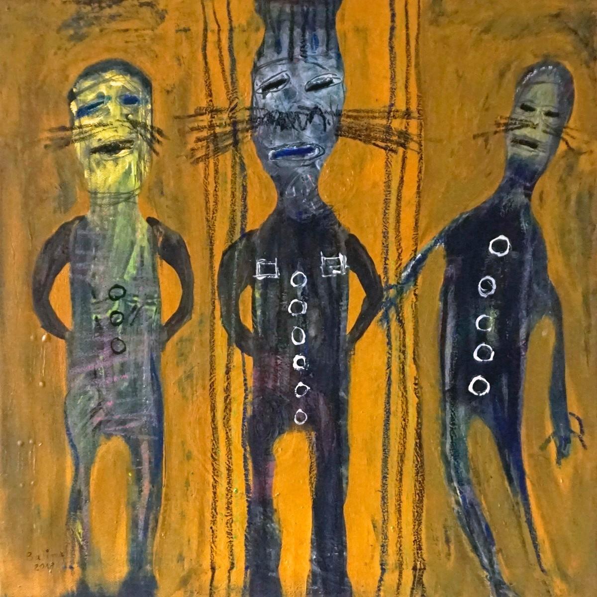 Wilfried Balima - Les trois camarades